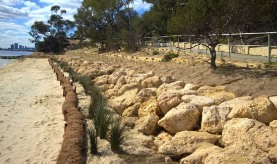 point heathcote erosion control